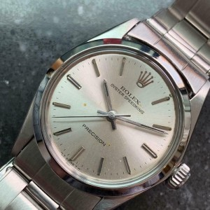 Mens Midsize Rolex Oyster Speedking Precision 6430 30mm Hand-Wind, c.1960s LV684