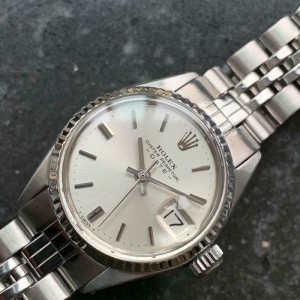 Ladies Rolex Oyster Perpetual Date 6517 24mm Automatic, 1970s All Original LV748