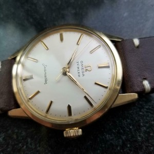 Mens Omega Seamaster Turler 35mm Gold-Capped Automatic, c.1960s Vintage LV826