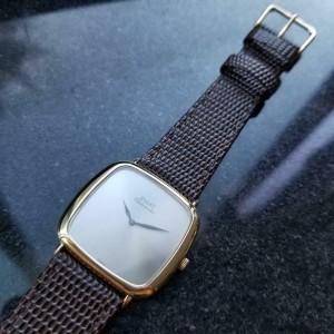 Mens Piaget 32mm 18k Gold cal.12PC1 Automatic dress watch, c.1970s Swiss LV862