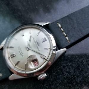 Mens Tudor Prince Oysterdate Automatic Dress Watch, c.1960s Vintage LV777BLU