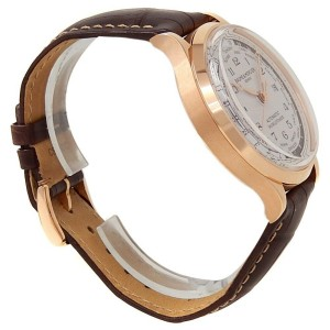 Baume & Mercier Capeland Worldtimer 18k Rose Gold Beige Men's Watch M0A10107