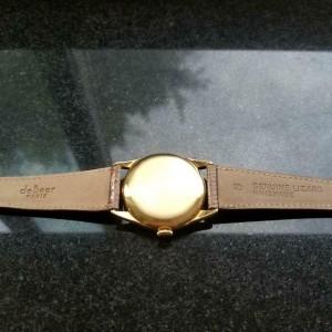 Mens Vacheron & Constantin 4066 33mm 18K Gold Hand-Wind, c.1950s Swiss MS233TAN
