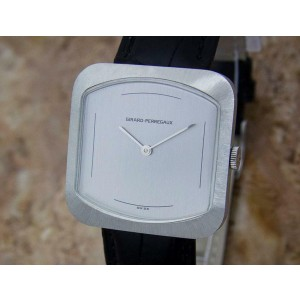 Mens Girard Perregaux 33mm Hand-Wind Dress Watch, c.1970s Swiss Vintage MX55