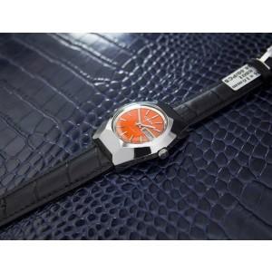 Mens Citizen 19J 35mm Day Date Automatic Orange Dial, c.1960s Vintage T780