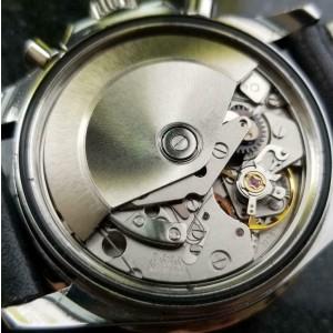 Mens Bucherer Sub Professional 40mm Chronograph Automatic c.1970s Swiss MS114TAN