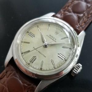 Mens Rolex Oyster Royal Ref.6244 31mm Hand-Wind Dress Watch, c.1950s MA174