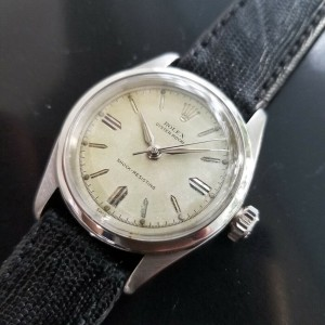 Mens Rolex Oyster Royal 6244 31mm Hand-Wind, c.1950s Swiss Vintage MA174BLK