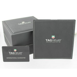 TAG HEUER LADIES CARRERA WV2410.BA0793 AUTOMATIC DIAMOND BLACK SWISS STEEL WATCH