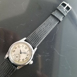 Midsize Rolex Oyster Pioneer Ref.3373 29mm Hand-Wind, c.1930s Vintage MA190BLK