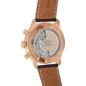 Breitling Navitimer 8 B01 18k Rose Gold Leather Auto Bronze Men's Watch RB0117