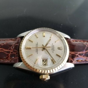 Mens Rolex Oyster Perpetual Date Ref.1500 35mm Automatic, c.1960s Vintage RA148