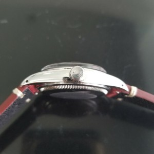 Mens Rolex Oyster Perpetual Date 1500 35mm Automatic, c.1970s Vintage RA113RED