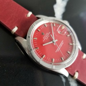 Mens Rolex Oyster Perpetual Date ref.1501 35mm Automatic c.1970s Swiss RA121RED