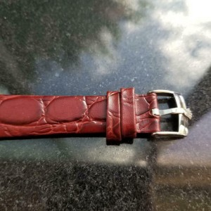 Mens Tudor Advisor ref.10050 35mm 1980s Manual Wind with Alarm Swiss LV601RED
