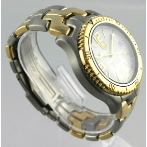 TAG HEUER LINK WT5150.BD0552 18K SOLID GOLD CHRONOMETER CLASSIC SWISS MENS WATCH