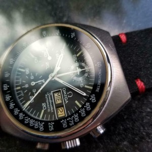 Mens Omega Speedmaster 1970s Mark 4.5 Vintage 42mm Automatic Swiss