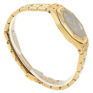 Audemars Piguet Royal Oak 18k Yellow Gold Quartz Grey Ladies Watch
