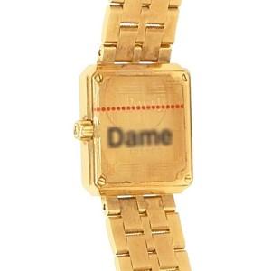 Piaget Protocole 18k Yellow Gold Quartz Diamonds Champagne Watch
