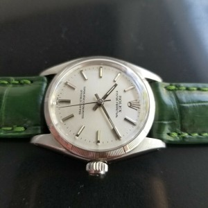 Midsize Rolex Oyster Perpetual Ref.6549 30mm Automatic Watch, c.1960s RA128GRN