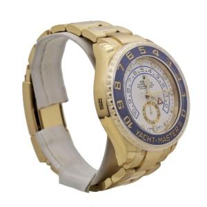 Men's Rolex Yacht-Master II 44, 18k Yellow Gold, White dial, 116688