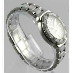 TAG HEUER  FORMULA 1 WAH1213.BA0861 WHITE CERAMIC DIAMOND LADIES SWISS WATCH
