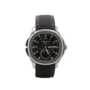 Men's Patek Philippe Aquanaut, 41mm, Stainless Steel, Black Dial, 5164A-001
