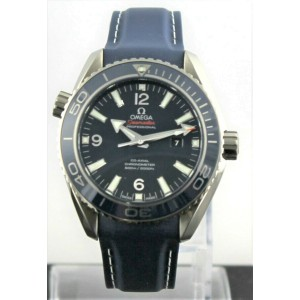 NEW OMEGA SEAMASTER PLANET OCEAN  232.92.38.20.03.001 AUTO BLUE CO-AXIAL WATCH