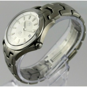 TAG HEUER LINK WJF2111.BA0570 AUTOMATIC MENS LUXURY SILVER WATCH BOX PAPERS