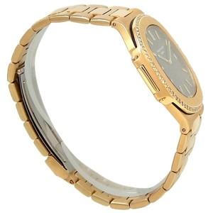 Patek Philippe Nautilus 18k Yellow Gold Auto Diamonds Black Men's Watch 3700/4