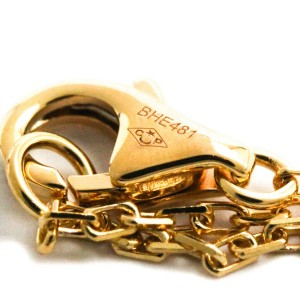 CARTIER 18K Pink Gold Diamants Légers Necklace