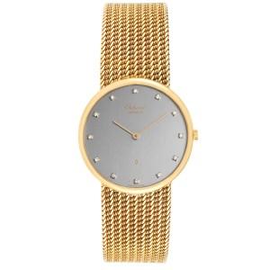 Chopard Classique 18K Yellow Gold Quartz Mens Watch 1091