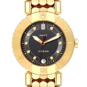 Harry Winston Submariner Ocean 38mm 18K Yellow Gold Mens Watch