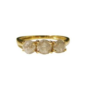 14K Yellow Gold & 1ct Diamond Ring Size 6.5