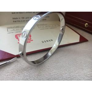 Cartier Love Bracelet 950 Platinum Size 17