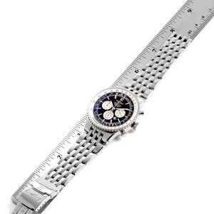 Breitling Navitimer Heritage Black Dial Automatic Mens Watch A35340