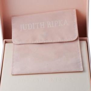 Judith Ripka Arielle 18K Yellow Gold Diamond Smoky Smokey Quartz Pave Necklace