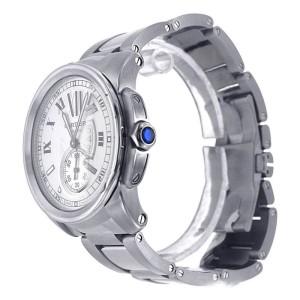 Cartier Calibre W7100015 Stainless Steel 42mm Men's Watch