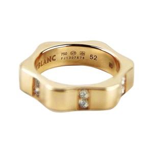 Montblanc 18K Rose Gold & Diamond Star Ring Size U.S. 6 ; EU 52