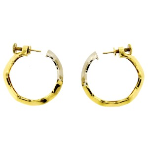 Pomellato 18K Yellow & White Gold Earrings
