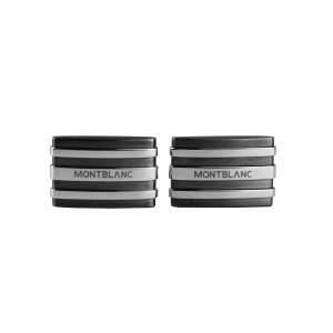 Montblanc Stainless Steel & Tantalum Cufflinks