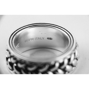 Montblanc Silver Womens Ring Size 10