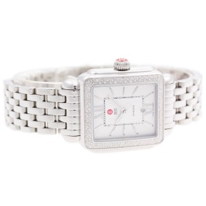 Michele Deco Signature MWW06T000055 33mm Womens Watch