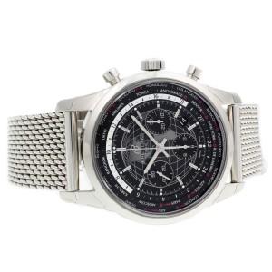 Breitling Transocean Unitime AB0510U4/BE84-152A 46mm Mens Watch