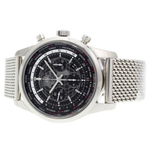 Breitling Transocean Unitime AB0510U4/BE84-152A 46mm Mens Watch