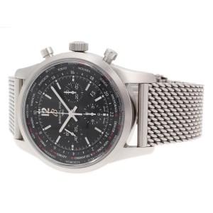 Breitling Transocean Unitime Chrono AB0510U6/BC26-159A 46mm Mens Watch