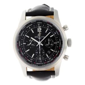 Breitling Transocean Chrono Unitime AB0510U6/BC26-441X 46mm Mens Watch