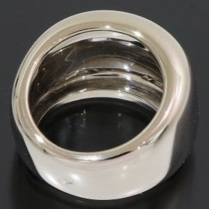 Cartier Nouvelle 18K White Gold Ring Size 4.5