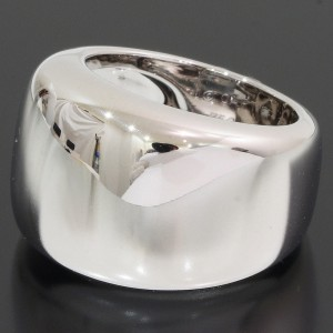 Cartier Nouvelle 18K White Gold Ring Size 4.25
