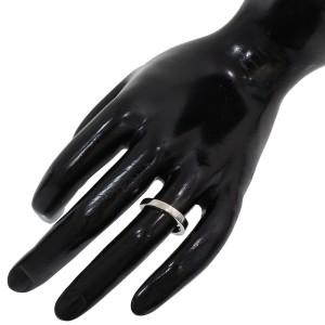 Bvlgari Bulgari Platinum Wedding Ring Size 4.75